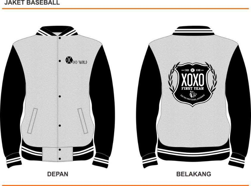 Fantastic Varsity Jacket Template Component - Examples Professional ...